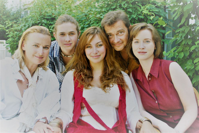 Andreas Steppan privat mit Familie